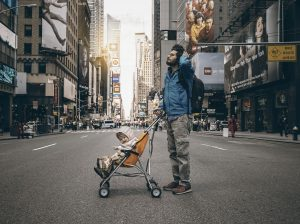 Baby-in-travel-stroller