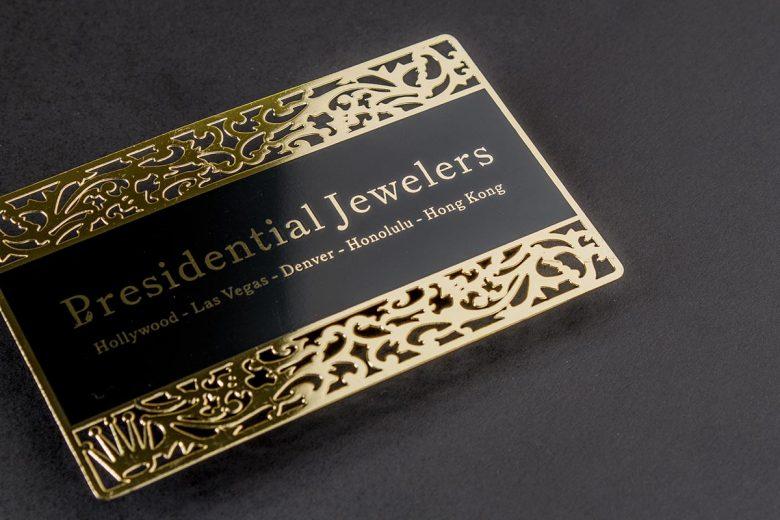 vistaprint metal business cards